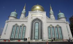 Welcome to NewsDirect411: Vladimir Putin Opens New Mosque In Russian.