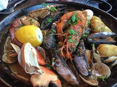 Freshness of the sea  : Crabshack Combo; Giant ShrimpCrab Claws Mussels Potatoes- Garlic White Wine Cream  #food #foodporn #yum #instafood #TagsForLikes #yummy #amazing #instagood #photooftheday #sweet #dinner #lunch #breakfast #fresh #tasty #foodie #delish #delicious #eating #foodpic #foodpics #eat #hungry #foodgasm #hot #foods by festivefood_