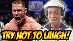 WWE Try Not To Laugh Challenge (John Cena Prank Call) - YouTube