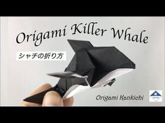 Origami Killer Whale (Orca) Tutorial シャチの折り方 - YouTube