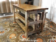 I would LOVE to see this up close!!! LOVE,LOVE,LOVE!!! #rusticindustrial #rusticinterior #rustichomedecor #rusticdecor #rusticstyle #rustickitchen #rustickitchendecor #homedecor #homestyling #homestaging #kitchendesign #kitchengoals #lovewood #kitchenisland #interiordecorator