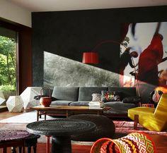 Paint color inspiration #Paint_color #Livingroom