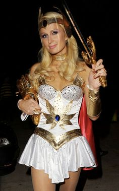 paris hiltons she ra halloween costume - Universe Halloween Costume