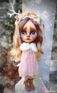 RESERVED for Kat - Fauna - OOAK Custom Blythe Doll - #60