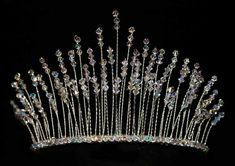 A perfect princess tiara. Lots of sparkly swarovski crystals. £55