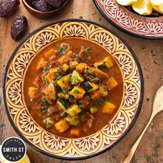 Lamb Harira Soup  Lamb Harira Soup  Smith St Paleo