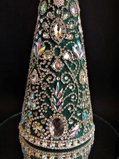 Rhinestone Jewelry Tree christmas Decorholiday Decor | Etsy