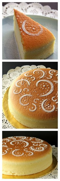 Cotton soft Japanese cheesecake recipe. Japanese cheesecake is light, soft, pillowy and airy. Tried and tested recipe, a MUST-BAKE. http://rasamalaysia.com