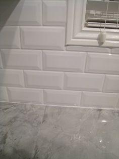 Beveled Subway Tile Interior Groupie Kitchen Reveal Part 3 The Backsplash