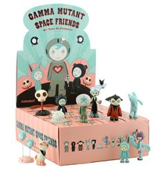 Want!!! Tara McPherson Gamma Mutant Space Friends