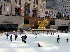 Rockefeller Center, New York City. November 9, 2012.