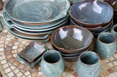 Hey, I found this really awesome Etsy listing at http://www.etsy.com/listing/156884595/eclectic-dinnerware-set-of-6-place