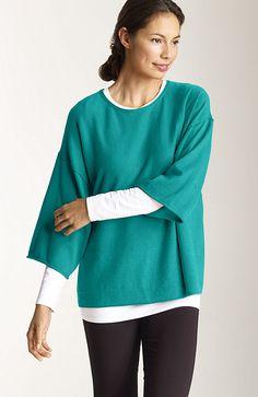 Pure Jill ultrasoft kimono-sleeve sweater at J.Jill