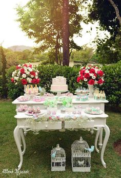 Desert Table, Wedding Decorations, Table Decorations, Tea Party Birthday, Candy Table, Girl Shower, Event Decor, Flower Arrangements, Bridal Shower