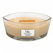 Woodwick Artisan Red Currant /& Cedar Bougie Cire Rose Elipse