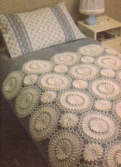 HEIRLOOM BEDSPREAD AFGHAN DIGEST SIZE CROCHET PATTERN INSTRUCTIONS | eBay