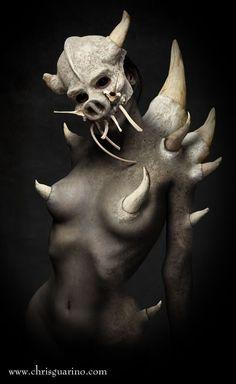 Masquerade: Where bizarre meets femininity, opening Friday at Leon Gallery - Show and Tell