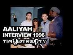 Aaliyah (17yrs old) with Westwood live in 1996! Speaking realness about her work in the industry - YouTube