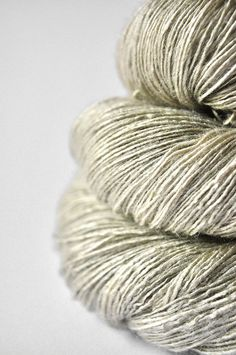 Lost in lies OOAK - Tussah Silk Yarn Lace weight