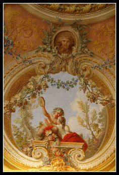 Caserta - Rococo Pendentive by earthmagnified, via Flickr