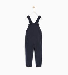 KNOTTED STRAP DUNGAREES