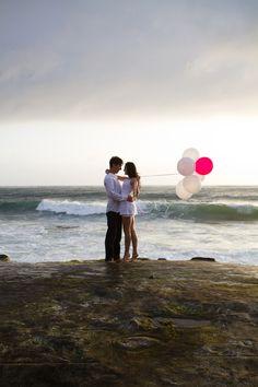 romantic beach love shoot by Micko Photo
