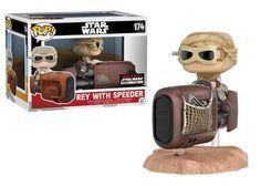 Rey with Speeder Funko POP! Vinyl