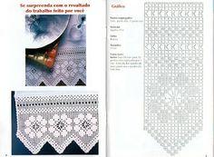 PORTAL DOS CROCHÊS: BARRADOS DE CROCHÊ FILÉ
