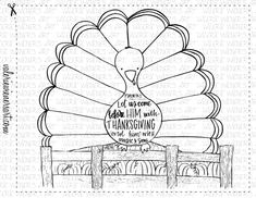 JUST ADDED New Fall Thanksgiving Instant Printables Coloring PagesThanksgiving