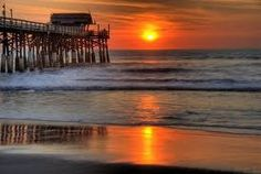 """Cocoa Beach Pier, been there! (from Steph's board, """"Places I Have Been"""")"""