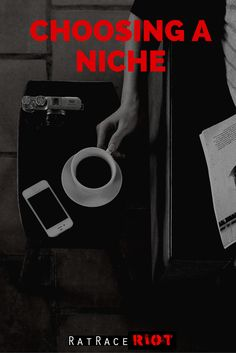 Choosing a niche is kinda like picking the person you're going to marry. Read this for some reassurance and ideas on how to make the choice! Rat Race, How To Start A Blog, Scary, Writing, Learning, Logos, Ideas, Studying, Logo