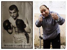 The boxer Joaquim Fontes at age 80