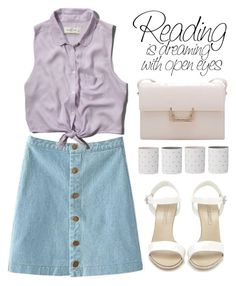 """""""OOTD"""" by m-zineta ❤ liked on Polyvore featuring Abercrombie & Fitch, Ralph Lauren and Bloomingville"""