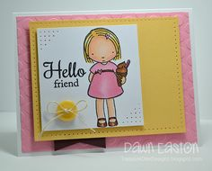Hello Friend by TreasureOiler - Cards and Paper Crafts at Splitcoaststampers