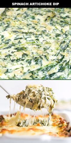 This is our take on a classic appetizer: spinach dip. This traditional snack is ready to serve in 20 minutes with this easy recipe. I love all the cheesy goodness. I especially love enjoying it on tortilla chips or warm, crisp bread. Recipes Appetizers And Snacks, Appetizer Dips, Baby Food Recipes, Spinach Dip Recipe Easy, Health Appetizers, Potato Recipes, Vegetable Recipes, Vegetarian Recipes, Dinner Recipes