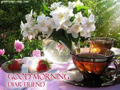Good Morning Diar Friend - http://greetings-day.com/good-morning-diar-friend.html