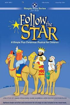 follow the star a simple plus christmas musical for children with paperback book - Childrens Christmas Musicals