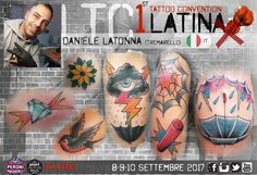 Daniele iatonna Tremarello - Latina Tattoo Convention