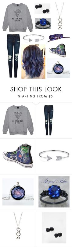 """Untitled #318"" by pheebs9876 ❤ liked on Polyvore featuring J Brand, Converse, Bling Jewelry, Frankie & Stein and ASOS"