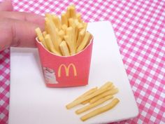 Miniature French Fries for American Girls 13 by MinnieKitchen