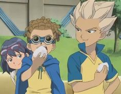 Inazuma Eleven images Gouenji x Haruna wallpaper and background photos