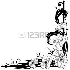 art nouveau corner designs - Google Search