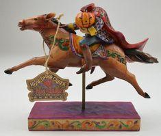 Jim Shore Heartwood Creek Resin Figurine - The Headless Rider Follows