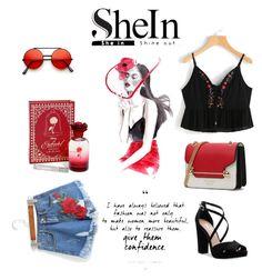"""""""Sheln"""" by hanija21 ❤ liked on Polyvore featuring Nina and Disney"""