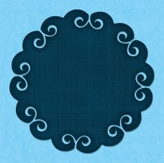 Decorative scallop svg file