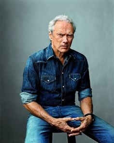 alifewithdenim:  Mister Eastwood in total denim