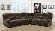 Mikrofaser Verstellbare Sectional Sofa - Lounge Sofa