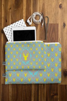 Bianca Green Oh Deer 3 Pouch | DENY Designs Home Accessories