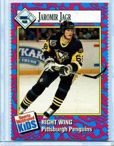 1993 Sports Illustrated For Kids JAROMIR JAGR Hockey Card - Penguins Capitals