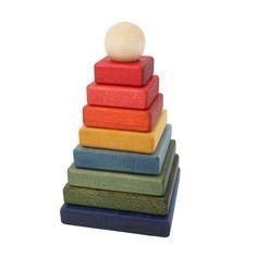 molly meg rainbow square pyramid